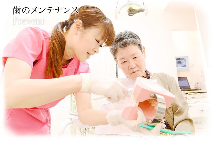 歯のメンテナンス   Prevent